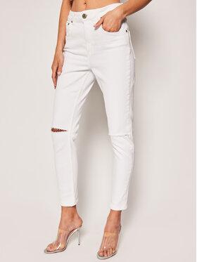 One Teaspoon One Teaspoon Skinny Fit Jeans Freebirds 22957 Weiß Slim Fit