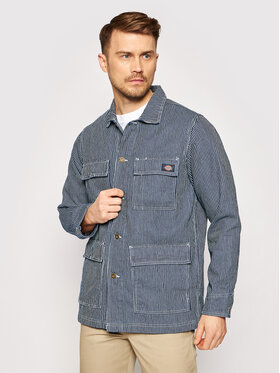 Dickies Dickies Jeansová bunda Morristown DK0A4XAKHS01 Tmavomodrá Regular Fit