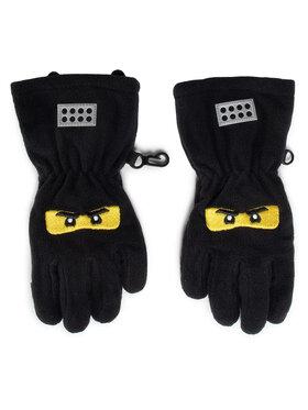 LEGO Wear LEGO Wear Detské rukavice Lwantony 600 22956 Čierna