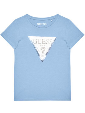 Guess Guess T-Shirt K1RI19 K6YW1 Blau Regular Fit