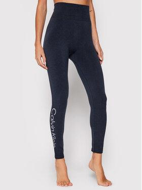 Calvin Klein Underwear Calvin Klein Underwear Legginsy 100004547 Granatowy Slim Fit