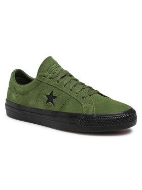 Converse Converse Сникърси One Star Pro Ox 166838C Зелен