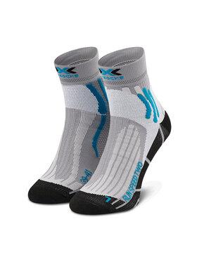 X-Socks X-Socks Skarpety Wysokie Męskie Run Speed Two XSRS16S19U Szary