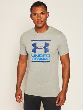 Under Armour Under Armour Póló Ua Gl Foundation 1326849 Szürke Loose Fit