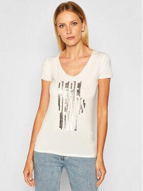 Pepe Jeans Pepe Jeans T-shirt Dana PL504615 Bianco Slim Fit