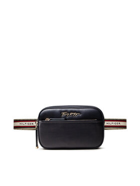 Tommy Hilfiger Tommy Hilfiger Borsetă Iconic Tommy Bumbag AW0AW10223 Bleumarin