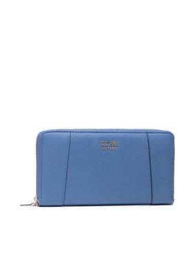 Guess Guess Μεγάλο Πορτοφόλι Γυναικείο Naya (VG) SLG SWVG78 81630 Μπλε