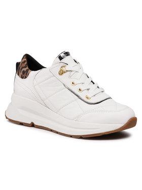 Geox Geox Sneakersy D Backie B D04FLB 08507 C1524 Bílá