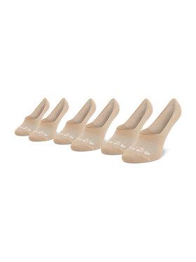 Diadora Diadora Moteriškų pėdučių komplektas (3 poros) Ghost DD-D1218/3-306 Smėlio