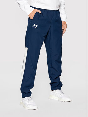 Under Armour Under Armour Outdoor hlače Vital Woven 1352031 Tamnoplava Loose Fit