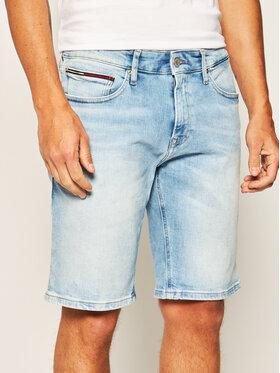 Tommy Jeans Tommy Jeans Džínové šortky Scanton DM0DM07968 Modrá Slim Fit