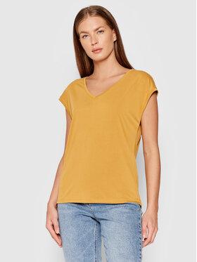 Vero Moda Vero Moda T-Shirt Filli 10246928 Żółty Regular Fit