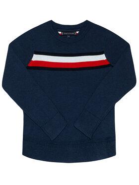 TOMMY HILFIGER TOMMY HILFIGER Sweater Essential KB0KB06070 M Sötétkék Regular Fit