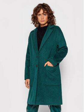 TWINSET TWINSET Зимно палто 212TT231A Зелен