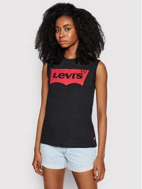 Levi's® Levi's® Felső Graphic On Tour 29669-0023 Fekete Regular Fit