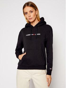 Tommy Jeans Tommy Jeans Sweatshirt Linear Logo DW0DW08972 Noir Regular Fit
