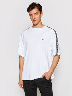 Emporio Armani Emporio Armani T-Shirt 211840 1P475 00010 Biały Relaxed Fit