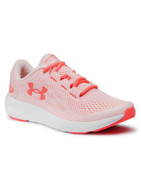 Under Armour Under Armour Boty Ua Gs Charged Pursuit 2 3022860-603 Růžová