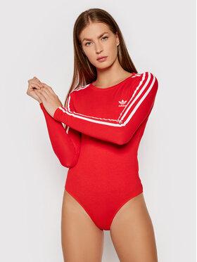 adidas adidas Body adicolor Classics H35623 Κόκκινο Slim Fit