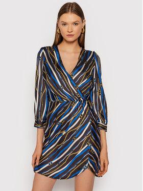 Rinascimento Rinascimento Sukienka koktajlowa CFC0018045002 Czarny Slim Fit