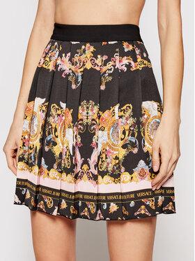 Versace Jeans Couture Versace Jeans Couture Плисирана пола A9HWA319 Черен Regular Fit