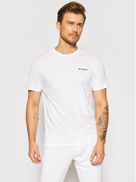 Columbia Columbia T-Shirt North Cascades™ 1834041 Biały Regular Fit