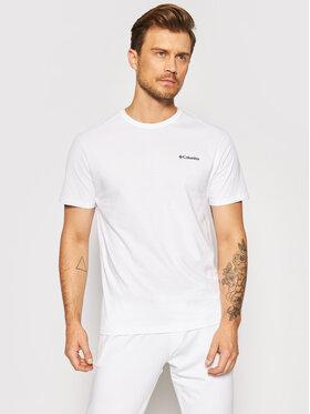 Columbia Columbia T-shirt North Cascades™ 1834041 Bianco Regular Fit