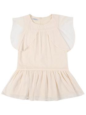 Primigi Primigi Kleid für den Alltag Feel Chic Today 45112571 Beige Regular Fit