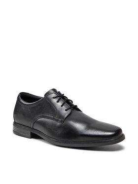Clarks Clarks Κλειστά παπούτσια Howard Walk 261612857 Μαύρο