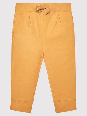 Coccodrillo Coccodrillo Teplákové nohavice ZC1120102HLD Žltá Regular Fit
