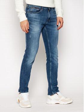 Tommy Jeans Tommy Jeans Blugi Slim Fit Dynamic Chester Mid DM0DM09322 Bleumarin Slim Fit