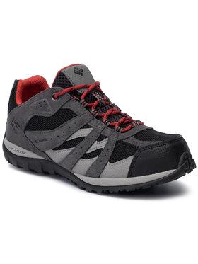 Columbia Columbia Trekingová obuv Youth Redmond Waterproof BY2857 Čierna