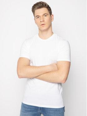 Trussardi Jeans Trussardi Jeans T-shirt 52T00309 Bianco Slim Fit