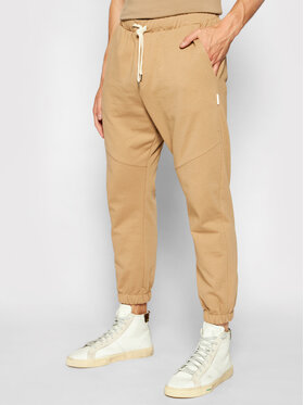 Imperial Imperial Долнище анцуг PD2HBLA Кафяв Regular Fit