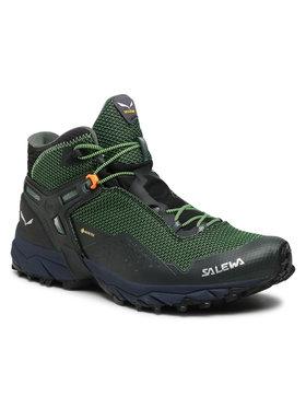 Salewa Salewa Παπούτσια πεζοπορίας Ms Ultra Flex 2 Mid Gtx GORE-TEX 61387 Πράσινο