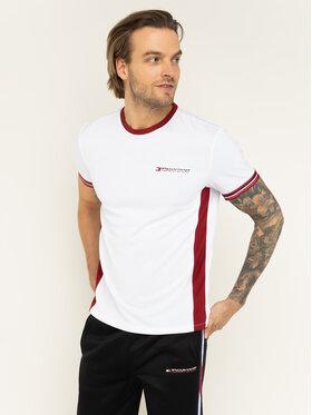 Tommy Sport Tommy Sport T-Shirt Classics S20S200326 Bílá Regular Fit
