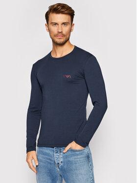 Emporio Armani Underwear Emporio Armani Underwear Longsleeve 111023 1A715 00135 Granatowy Regular Fit