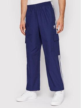 adidas adidas Sportinės kelnės adicolor Classics H09119 Mėlyna Relaxed Fit