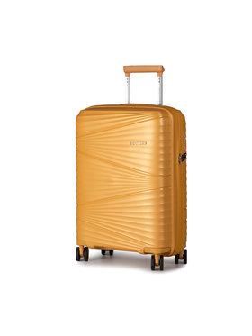 Puccini Puccini Kis kemény borítású bőrönd Victoria PP019C 6 Narancssárga