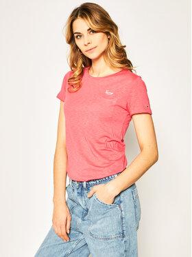Tommy Jeans Tommy Jeans T-Shirt Pocket Detail Tee DW0DW08006 Růžová Regular Fit