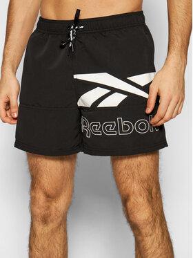 Reebok Reebok Pantaloni scurți pentru înot 71011 Negru Regular Fit