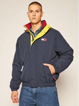 Tommy Jeans Tommy Jeans Μπουφάν πουπουλένιο Badge Zip-Thru DM0DM08763 Σκούρο μπλε Regular Fit