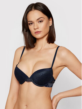 Emporio Armani Underwear Emporio Armani Underwear Melltartó alsó huzallal 164394 1P216 00135 Sötétkék