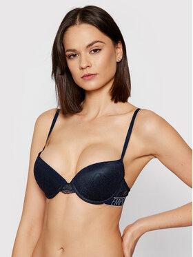 Emporio Armani Underwear Emporio Armani Underwear Podprsenka Push-up 164394 1P216 00135 Tmavomodrá