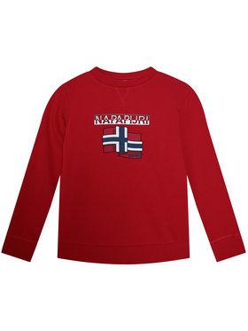 Napapijri Napapijri Sweatshirt K Birex C NP0A4EPZ D Rot Regular Fit