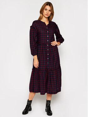 Tommy Hilfiger Tommy Hilfiger Φόρεμα πουκάμισο Bea Tartan WW0WW29289 Έγχρωμο Relaxed Fit