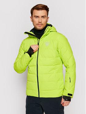 Rossignol Rossignol Lyžařská bunda Rapide RLIMJ16 Zelená Regular Fit