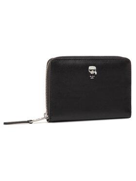 KARL LAGERFELD KARL LAGERFELD Veľká dámska peňaženka 205W3205 Čierna