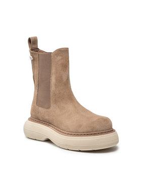 Carinii Carinii Kotníková obuv s elastickým prvkem B7281 Béžová