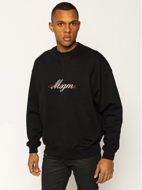 MSGM MSGM Felpa 2840MM102 207099 Nero Regular Fit